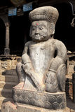 Stone Guardian, Dattatreya Temple, Nepal Royalty Free Stock Photography
