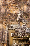 Stone Guardian at Pre Rup Stock Photo