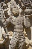 Stone Guardian at Vatadage, Sri Lanka Royalty Free Stock Photography