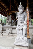 Stone Guardians at Tirtha Empul, Bali, Indonesia Stock Image