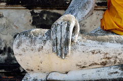 Stone hand of Buddha Royalty Free Stock Image