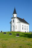 Stone Haven Church. And Cemetery, New Brunswick Canada Royalty Free Stock Image