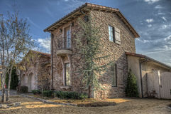 Stone HDR Home Stock Photography