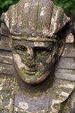 Stone head Royalty Free Stock Photo