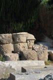 Stone head Stock Image