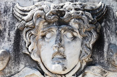 Stone head of Medusa Royalty Free Stock Photo