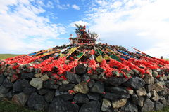 Stone heaps Royalty Free Stock Images