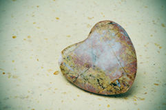 Stone heart Stock Images