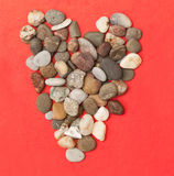 Stone heart Royalty Free Stock Photography