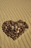 Stone_heart Zdjęcie Royalty Free