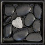 Stone heart Stock Photos