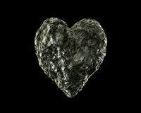 Stone Heart. 3d designs of the various forms of love Stock Photo