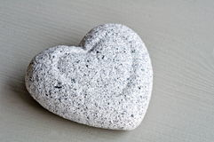 Stone heart Royalty Free Stock Photography
