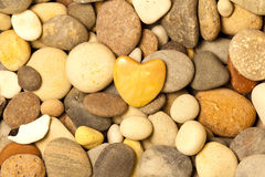 A stone heart shaped Royalty Free Stock Photo