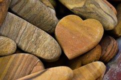 Stone Heart Stock Photography