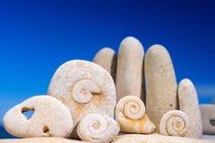 Stone helix Royalty Free Stock Image