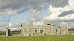 Stone Henge in Autumn Stock Photo