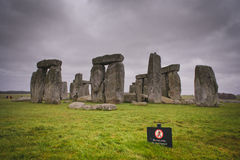 Stone Henge Color Royalty Free Stock Photography