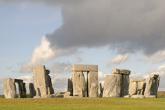 Stone henge full view Royalty Free Stock Photo