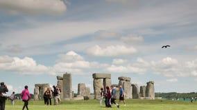 Stone henge monolithic stones england stock footage