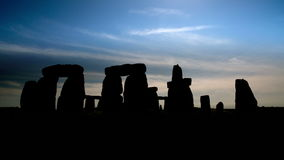 Stone henge monolithic stones england Royalty Free Stock Photo