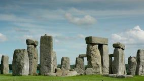 Stone henge monolithic stones england stock video footage
