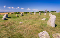 Stone henge on Oland island Stock Images