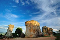 Stone henge Thailand Stock Photo
