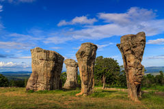 Stone Henge in Thailand Stock Photos
