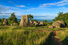 Stone Henge in Thailand Stock Photography