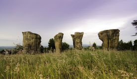 Stone Henge of Thailand Royalty Free Stock Image