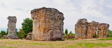 Stone henge in Thailand Royalty Free Stock Photography