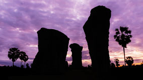 Stone henge on twilight time Royalty Free Stock Photos