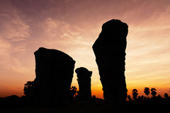 Stone henge on twilight time Royalty Free Stock Photography