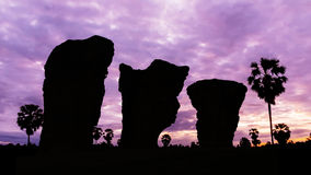 Stone henge on twilight time Stock Photos