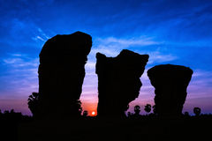 Stone henge on twilight time Royalty Free Stock Photo