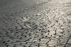 Stone highway Stock Photo