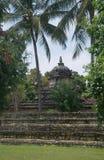 Stone hindu temple under trees , Sri Lanka Royalty Free Stock Images