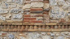 Stone wall of Historic place Kera Church Royalty Free Stock Photography
