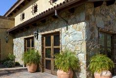 Stone Home Royalty Free Stock Photo