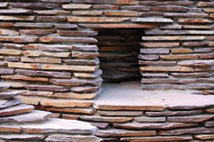 Stone home. A home of an animal made of stones Royalty Free Stock Photo
