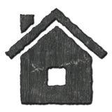 Stone home symbol Royalty Free Stock Photo