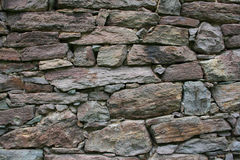 Stone Home Wall Stock Images