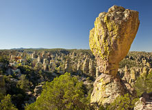 Stone Hoodoos at Chiricahua National Monument Royalty Free Stock Photo