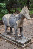 Stone horse Royalty Free Stock Photos