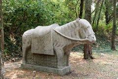 Stone Horse Stock Images