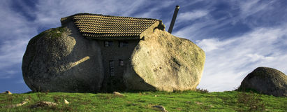 Stone House Stock Photo