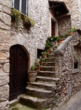 Stone house royalty free stock images