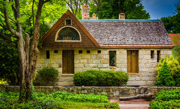 Stone house in Columbia, Maryland. stock photos
