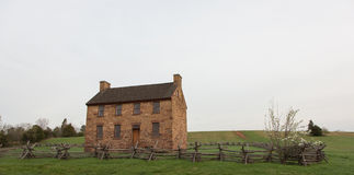 Stone House in Manassas Virginia Stock Image
